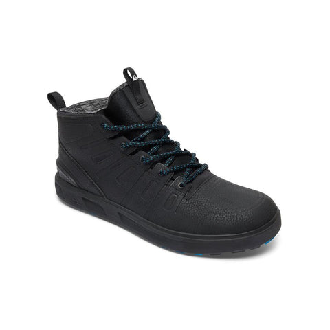 quicksilver Patrol Mid Top Shoes side view Mens High Tops black aqys700018-xkkw
