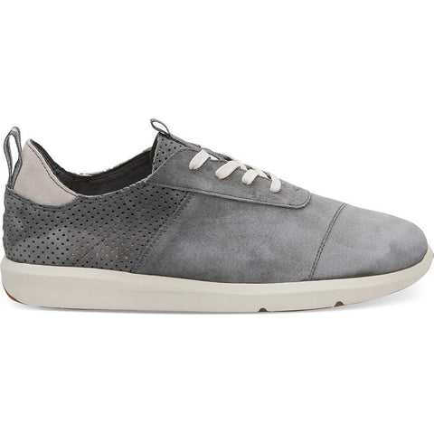 toms Cabrillo side view Mens Fashion Shoes dark grey 10011571