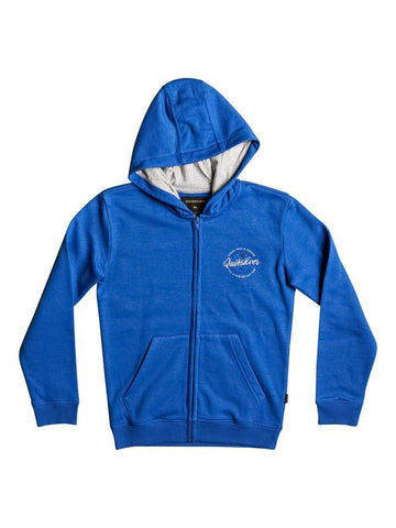quicksilver Jumja Zip front view Hoodie Boys Hoodies blue eqbft03373-bqs0