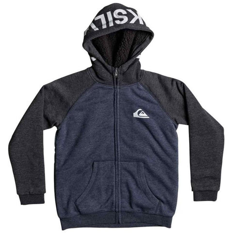 quicksilver Juwashey Hoodie front view Boys Hoodies navy eqbft03402-byjh