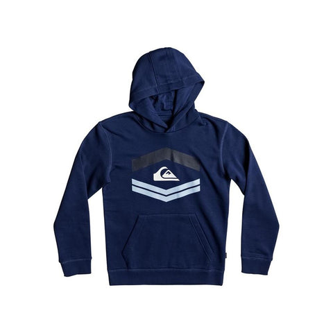 quicksilver New Port Roca front view Boys Hoodies navy eqbft03405-gqb0