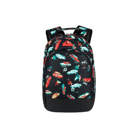 quicksilver Chompine K Backpack front view School Backpacks black