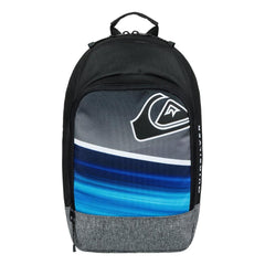 quicksilver Chompine K Backpack front view  School Backpacks black/blue eqkbp03005-bmm0