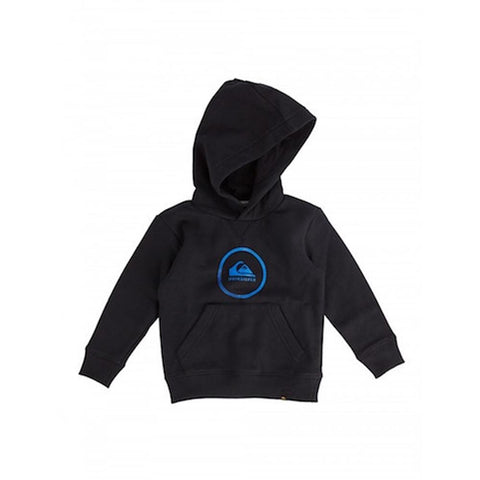 quicksilver Big Logo Hoodie Boys front view Boys Hoodies black eqkft03226-kvj0