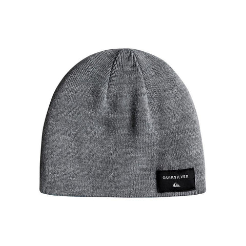 quicksilver Reversible Beanie front view Youth Toques grey/blue eqkha03010-bmm0