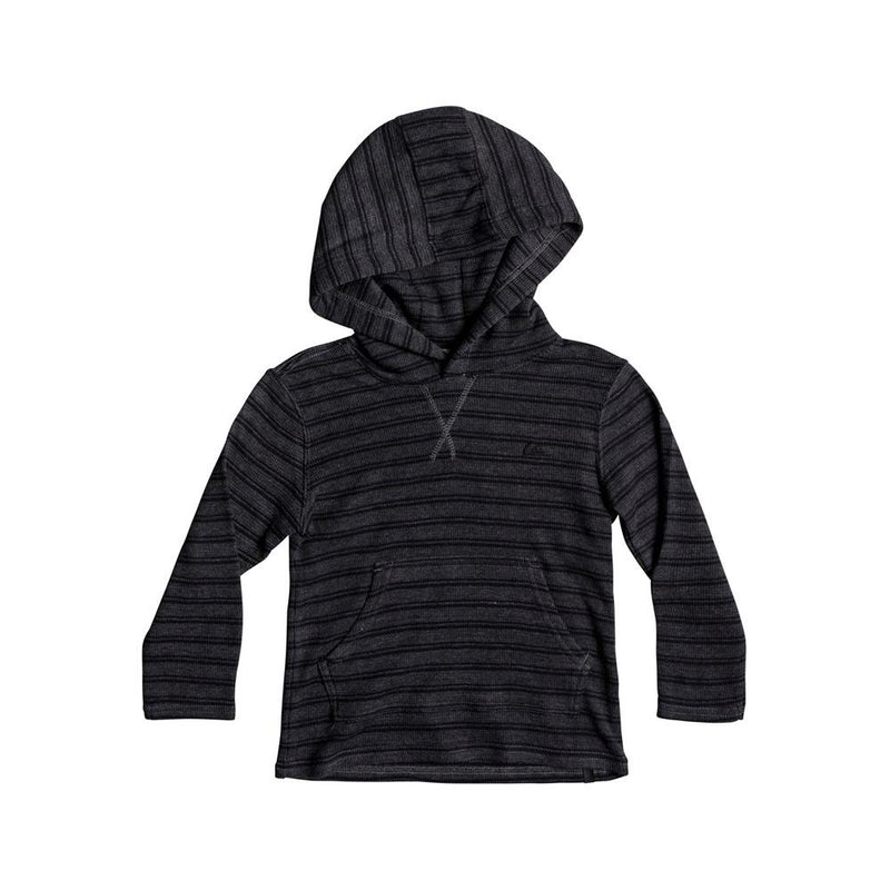 quicksilver Ocean Surface LS Hood front view Boys Long Sleeve T-Shirts