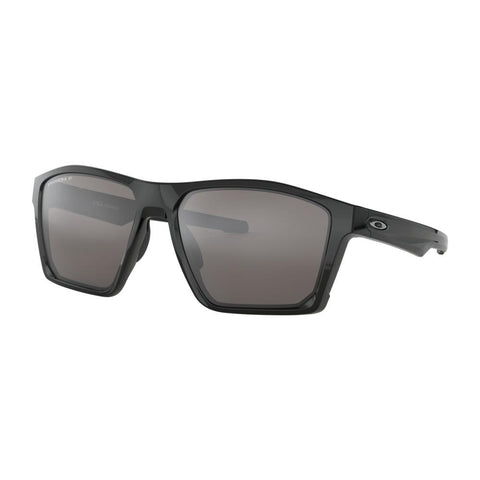oakley Targetline Prizm Polarized side view Polarized Sunglasses black polarazid black gloss