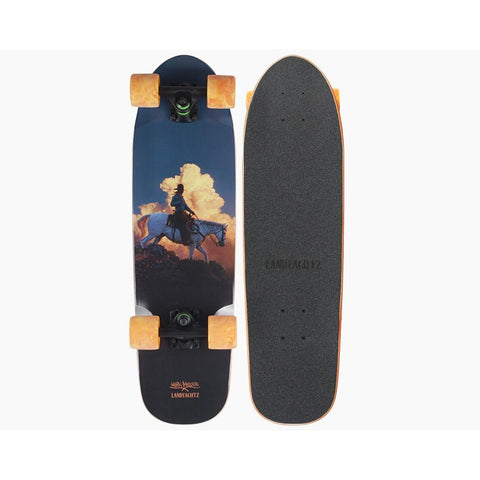 Landyachtz Dinghy Burning Sky Complete Longboards
