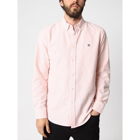OBE EIGHTY NINE BUTTON DOWN- MENS BUTTON UP LONG SLEEVE SHIRTS- MENS SHIRTS- MENS