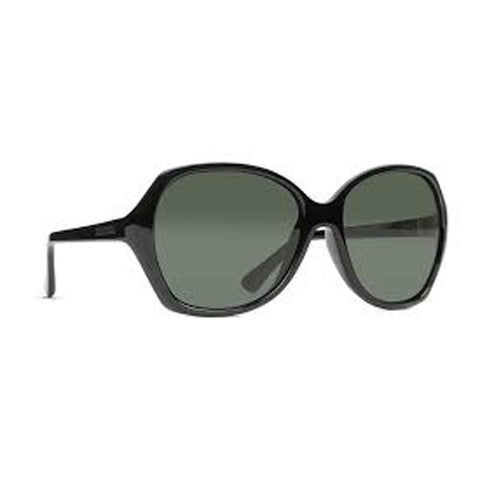 von zipper Bloom Sunglasses side view Womens Lifestyle Sunglasses grey black sjjfnblo-bkv