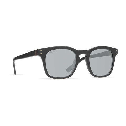 von zipper Morse Polarized side view Mens Polarized Sunglasses grey polarized black smpfnmor-psc