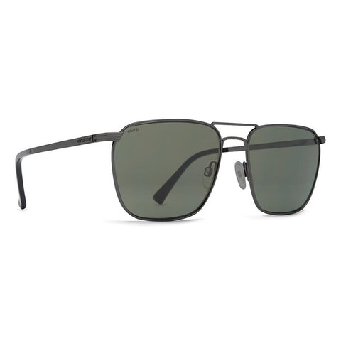 von zipper League Polarized side view Mens Polarized Sunglasses grey polarized gunmetal smpfelea-pcv