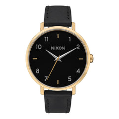 Nixon Arrow Womens Leather Band Watch