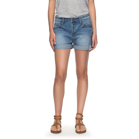 Roxy Green Turtle Cay Womens Jean Shorts
