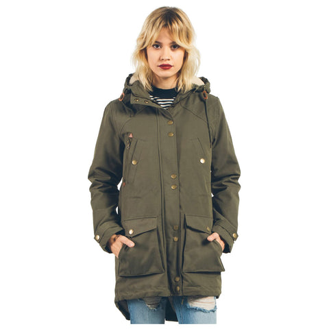 Volcom Walk On By Parka Womens Casual Jackets