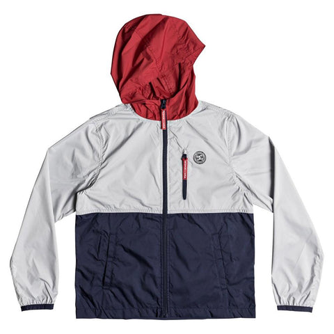 DC Dagup Tri Block Boys Windbreaker