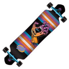 SANT DROP THROUGH SCREAMING HAND- DROP THROUGH TRUCKS LONGBOARDS- LONGBOARD COMPLETES- LONGBOARDS