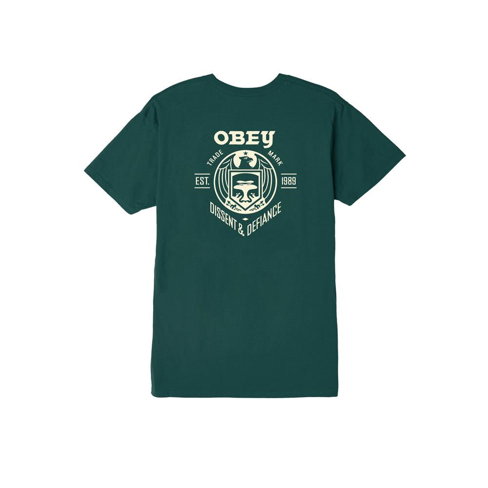Obey Dissent And Defiance Mens Premium T-Shirts