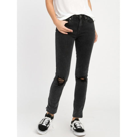 RVCA DAYLEY JEANS- WOMENS SKINNY JEANS- PANTS AND JEANS- WOMENS