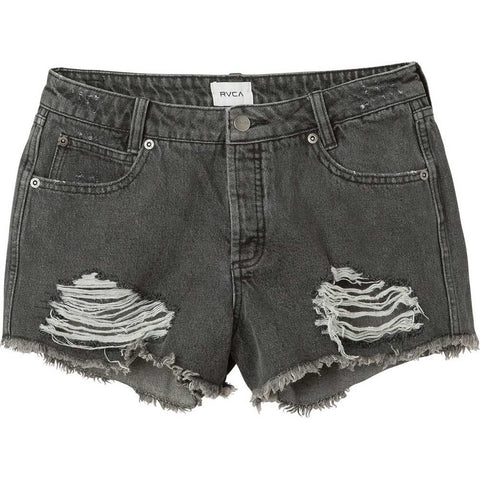 RVCA The BF Womens Jean Shorts