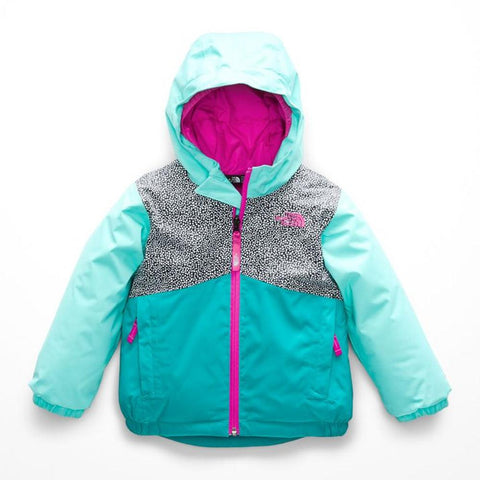 nf0a3cvx-5mf the north face toddler snowquest jacket teal