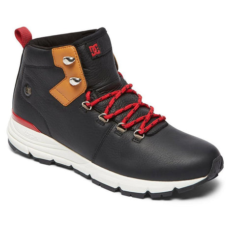 adyb700020-xkck dc muirland lx m boot mens high tops black/brown