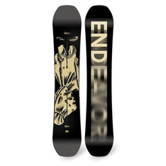 e17vice-mlt-156 endeavor vice series freestyle snowboards black/tan