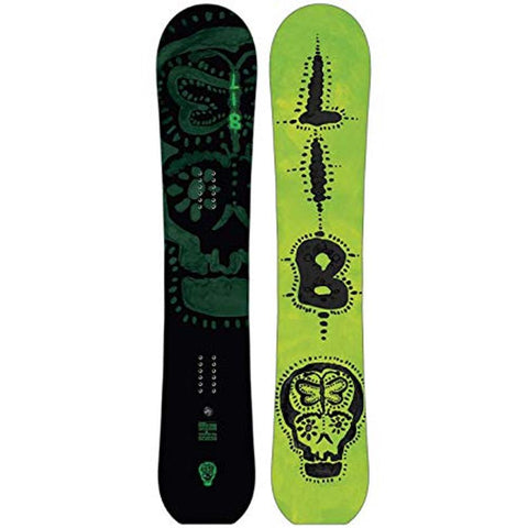 18ns051-none lib greenest wittlake hp c3 all mountain snowboards green/black