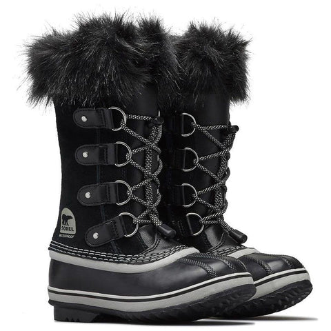 1516801013 sorel youth joan of arctic kid winter boots black