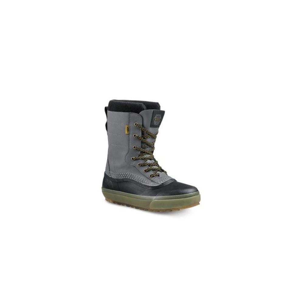vn0a3tfmrel vans standard boot mens winter boots black/grey