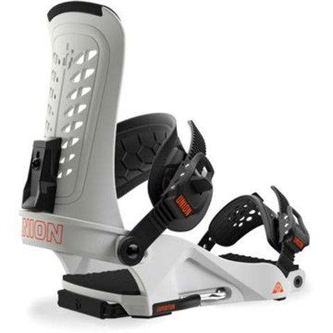 1830213 union expedition mens ratchet strap bindings white