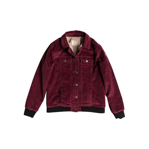 erjjk03264-rre0 roxy redwood giants jkt womens casual jackets red