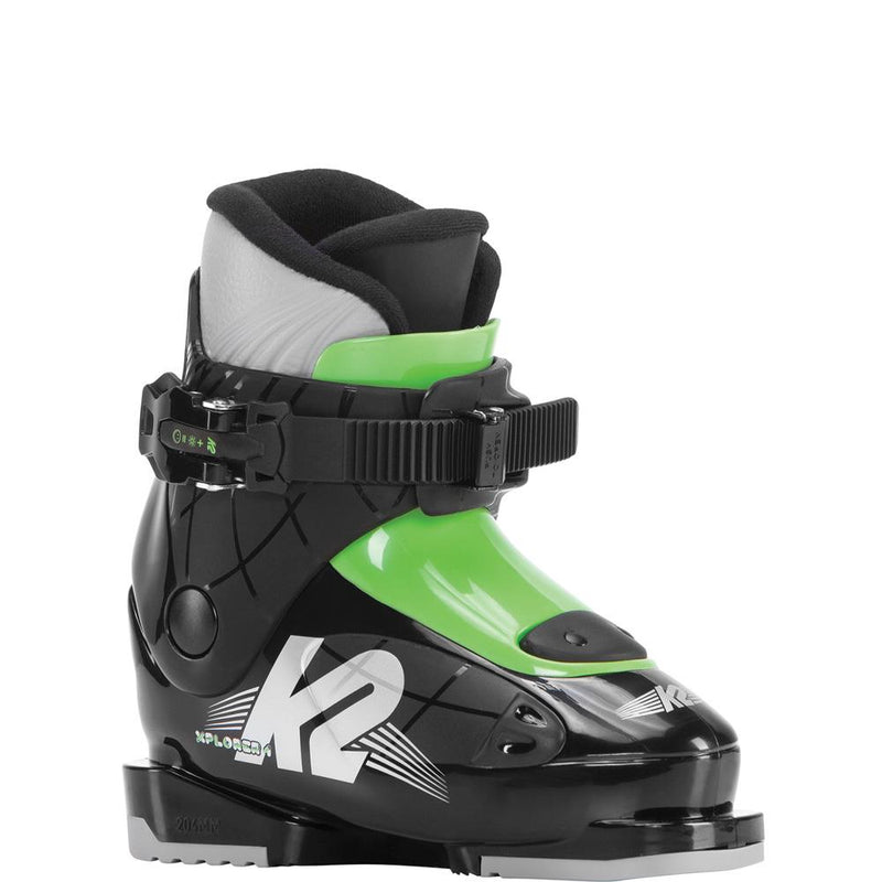 s171902601155 k2 xplorer 1 youth boys boots black/green