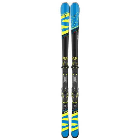 l39953200170 salomon m x-race sc + m xt12 top view men package blue/yellow