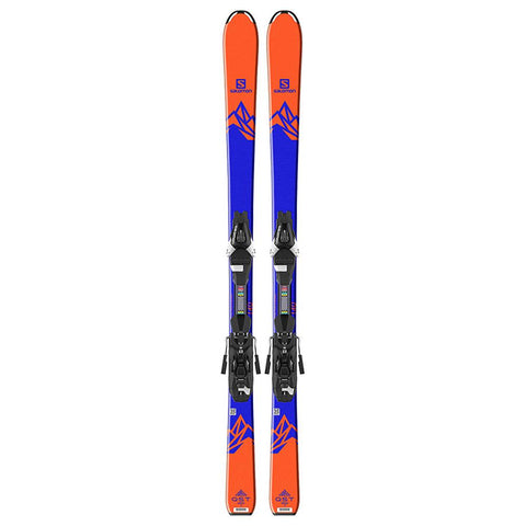 l39959800130 salomon set qst max jr m+e l7 b8 top view youth boys package blue/orange