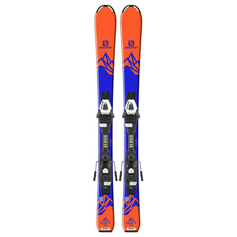 l39959900100 salomon set e qst max jr 2+3 c5 j7 top view youth boys package blue/orange