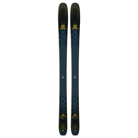 l4052400174 salomon n qst 99 top view unisex skis black