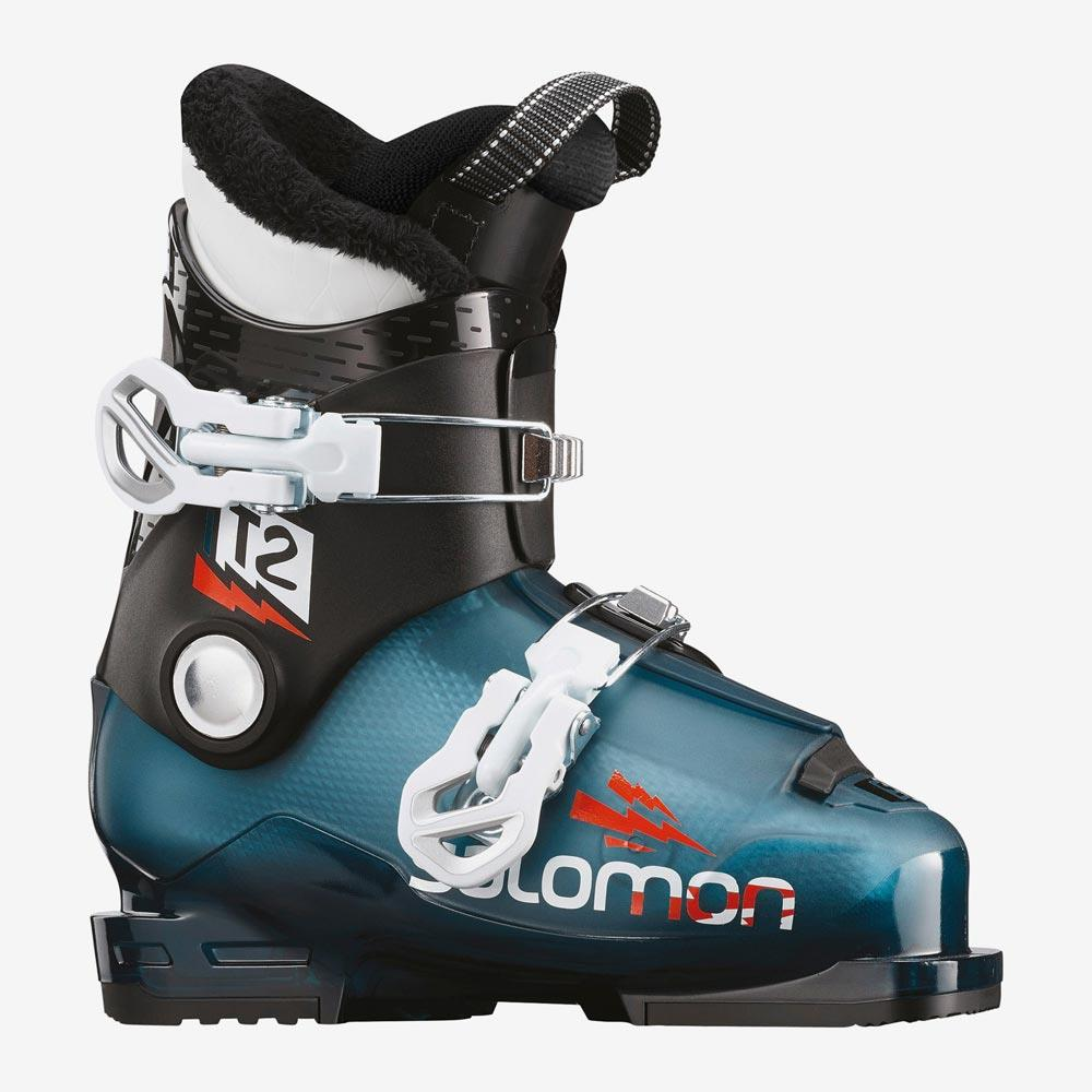 l40573900-black/blue Salomon T2 RT Boots black/blue side