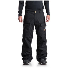 edytp03035-gzf0 dc code snow pant front view mens snowpants dark green