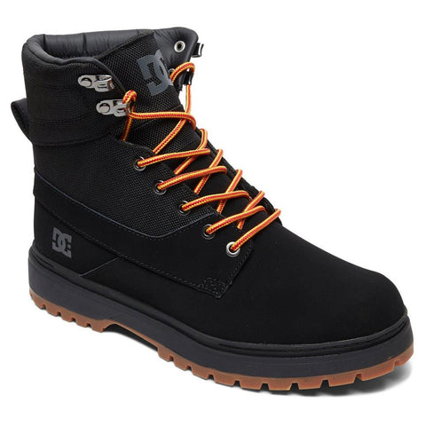 adyb700023-3bk dc uncas tr side view mens winter boots black