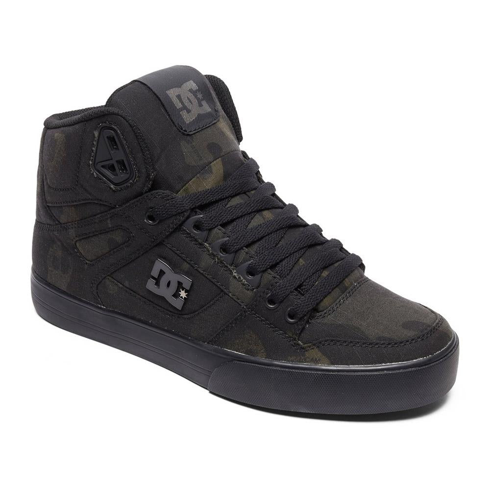 adys400046-cmo dc pure ht wc tx se side view mens high tops camo