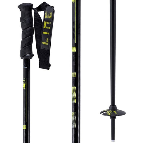 a180200201440 line skis grip stick close-up view poles black