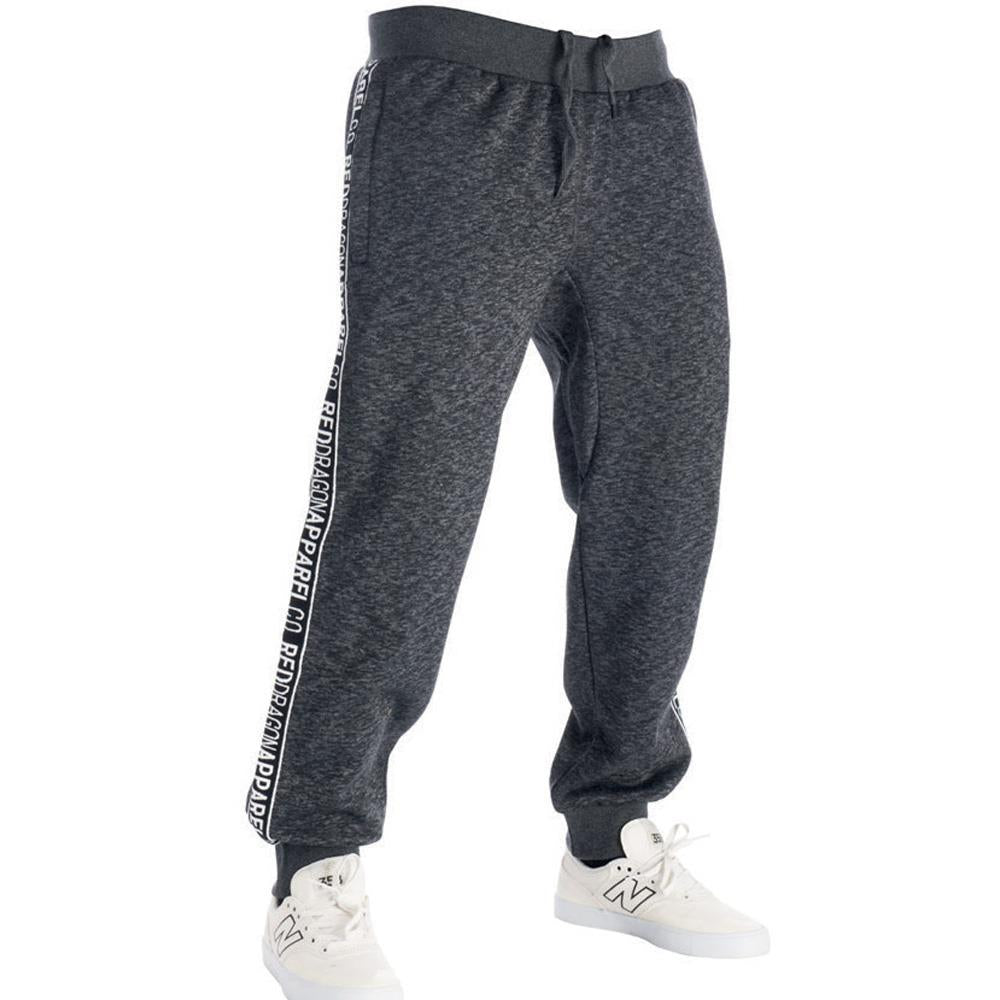 rd8160-dhgb rds sweatpant sweeper front view mens sweat pants dark heather