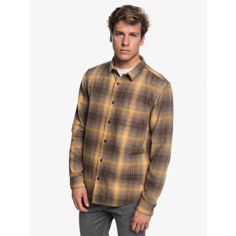 Quiksilver Fatherfly Flannel Long Sleeve Shirts