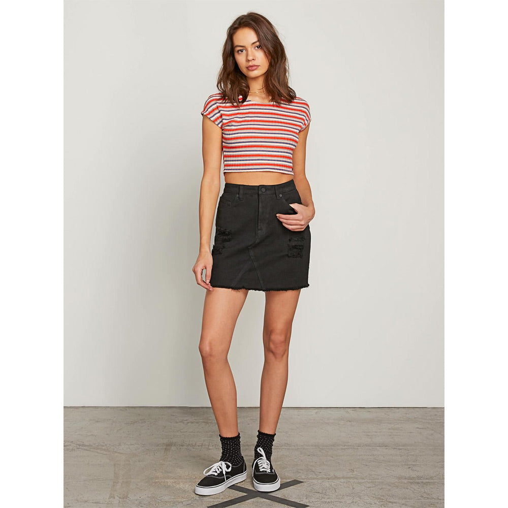 Volcom Stoned Womens Mini Skirts