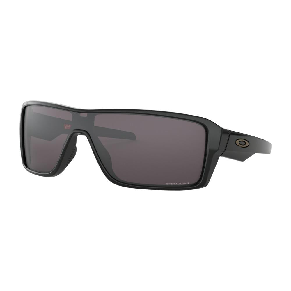 oakley ridgeline prizm side view mens lifestyle sunglasses grey black