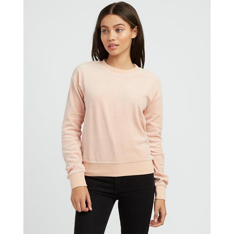 rvca babs front view womens sweaters pink