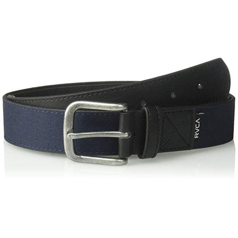 rvca reservoire belt overall view mens belts navy