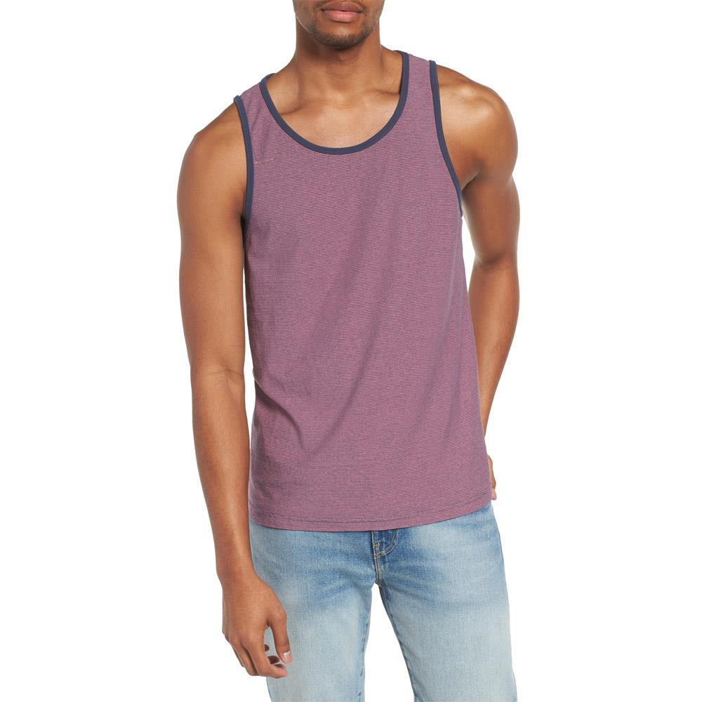 rvca theodore tank front side mens tank top and jerseys rose