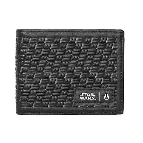 nixon arc wallet star wars front view mens wallets black